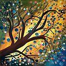 Tree Bubbles by JillPerlaArt