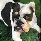 Doggies by JillPerlaArt