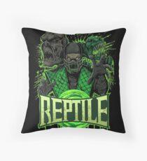 REPTILE Throw Pillow