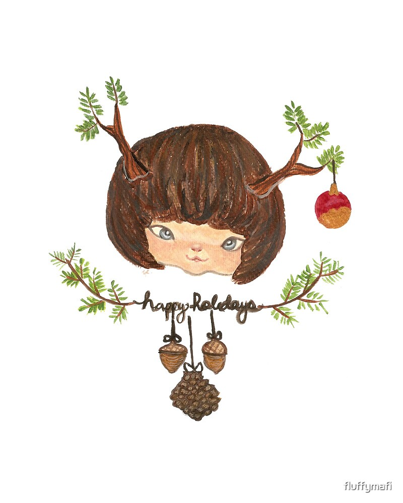 Christmas Reindeer by fluffymafi