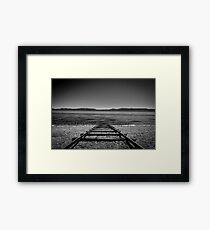 The West Explored: Derailed   Framed Print