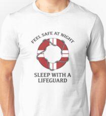 Sleep With A Lifeguard Unisex T-Shirt