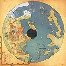 Grimmgard World Map by Grimmgard