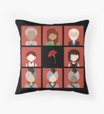 Hadestown Icons Throw Pillow