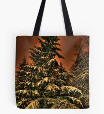 Eye of the snowstorm Tote Bag