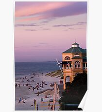 Indiana TeaHouse Sunset Poster