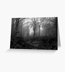 INTO THE JUNGLE Greeting Card