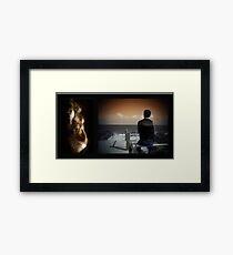 Sinister Sea Framed Print