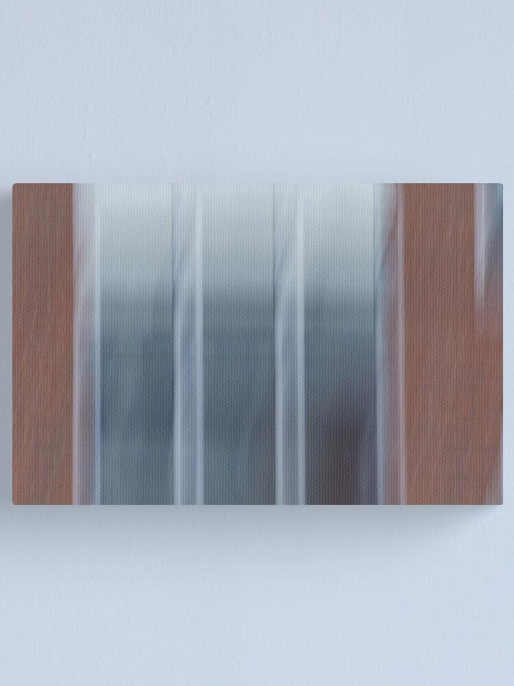 Alternate view of Glass, Brick & Motion Canvas Print