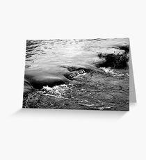 Wasser 3 Greeting Card