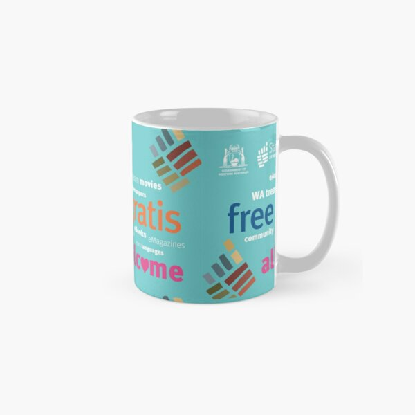 State Library of Western Australia free gratis all welcome Classic Mug