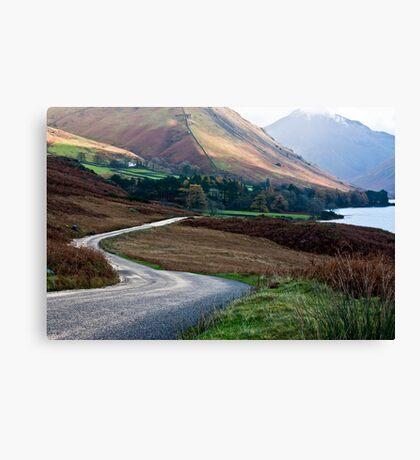 Lake Road - Wast Water Canvas Print