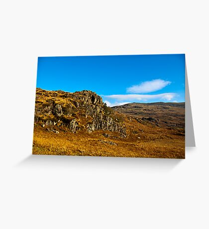 Colours of Autumn in the Duddon Valley Greeting Card