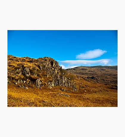 Colours of Autumn in the Duddon Valley Photographic Print
