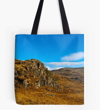 Colours of Autumn in the Duddon Valley Tote Bag