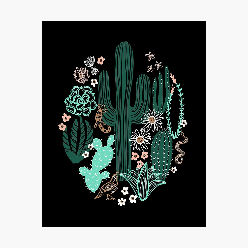 Sonora-Landschaft Fotodruck