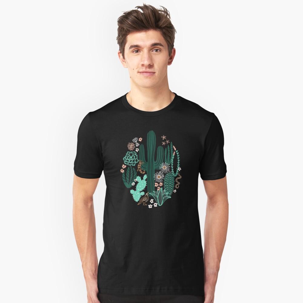 Sonora-Landschaft Slim Fit T-Shirt