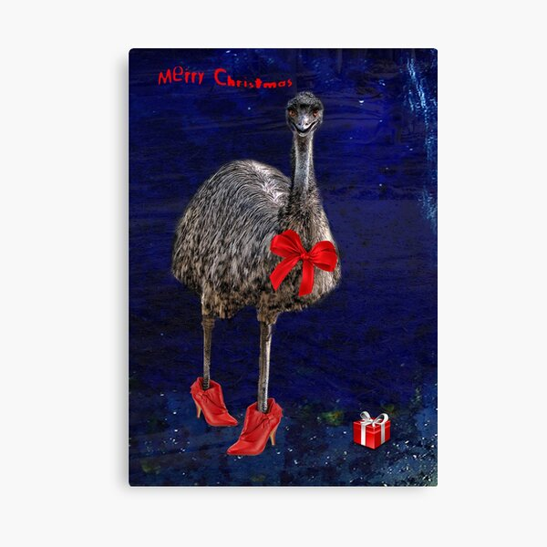 merry christmas from downunder! Canvas Print
