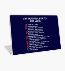 Dr. Horrible's To Do List  Laptop Skin