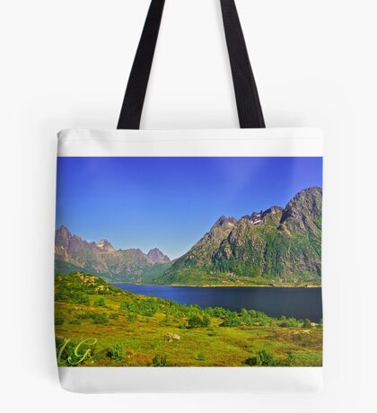The New Seven Wonders Of The World. Lofoten Islands . Anno Domini 2007 . Doctor Faustus. Tote Bag