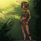 Mel'ia of the Jungle by DinobotTees