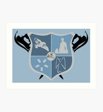 Joss Whedon Coat of Arms  Art Print