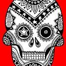 Deadeye Skull by mintdawn