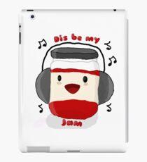 Dis sei meine Marmelade! iPad-Hülle & Klebefolie