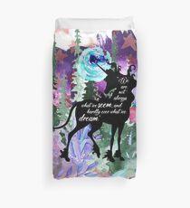 The Last Unicorn Quote Duvet Cover