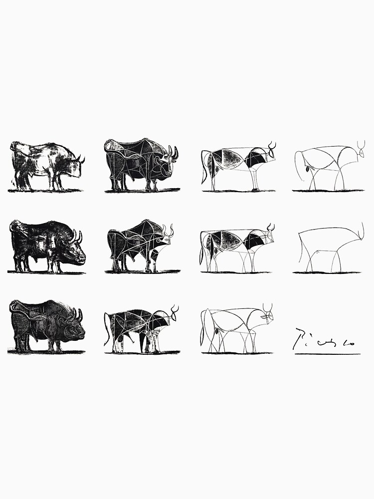 Picasso Bulls Poster by JeromeArt