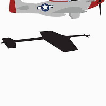"P-51 Mustang ""Scramble Takeoff"" #1 by warbirdwear"