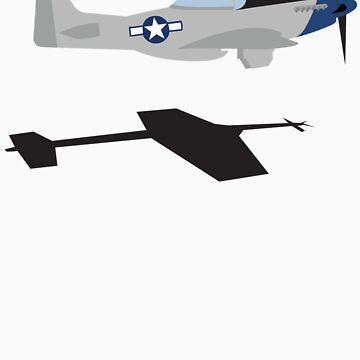 "P-51 Mustang ""Scramble Takeoff"" #2 by warbirdwear"