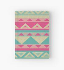 Cool fun triangle pattern  Hardcover Journal