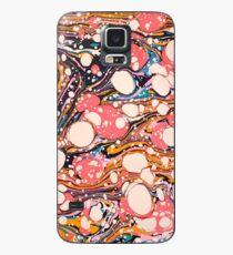 Psychedelische Retro marmoriert Paper Pepe Psyche Hülle & Klebefolie für Samsung Galaxy