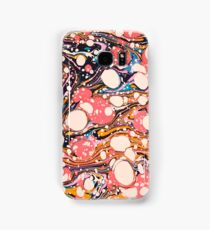 Psychedelic Retro Marbled Paper Pepe Psyche Samsung Galaxy Case/Skin