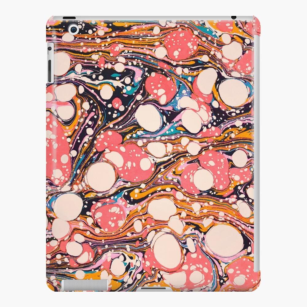 Psychedelische Retro marmoriert Paper Pepe Psyche iPad-Hülle & Skin