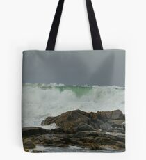 Breakers at Traigh Stir, North Uist Tote Bag