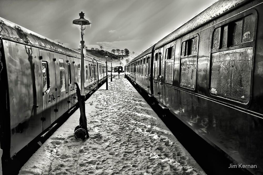 Catching The Train by Jim Kernan