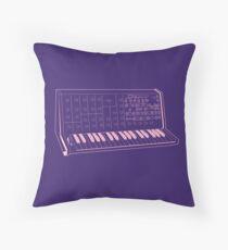 Korg MS20 Synthesizer Throw Pillow