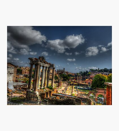 Roman Acheological Dig Photographic Print