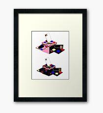 Retro Classics Design Box Framed Print