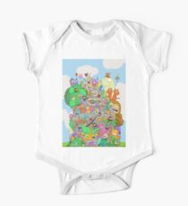 All Kinds of Critters One Piece - Short Sleeve