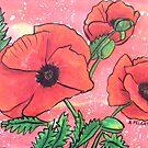 Poppies XVII by Alexandra Felgate