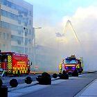 Firemen At Work......................................Derry by Fara