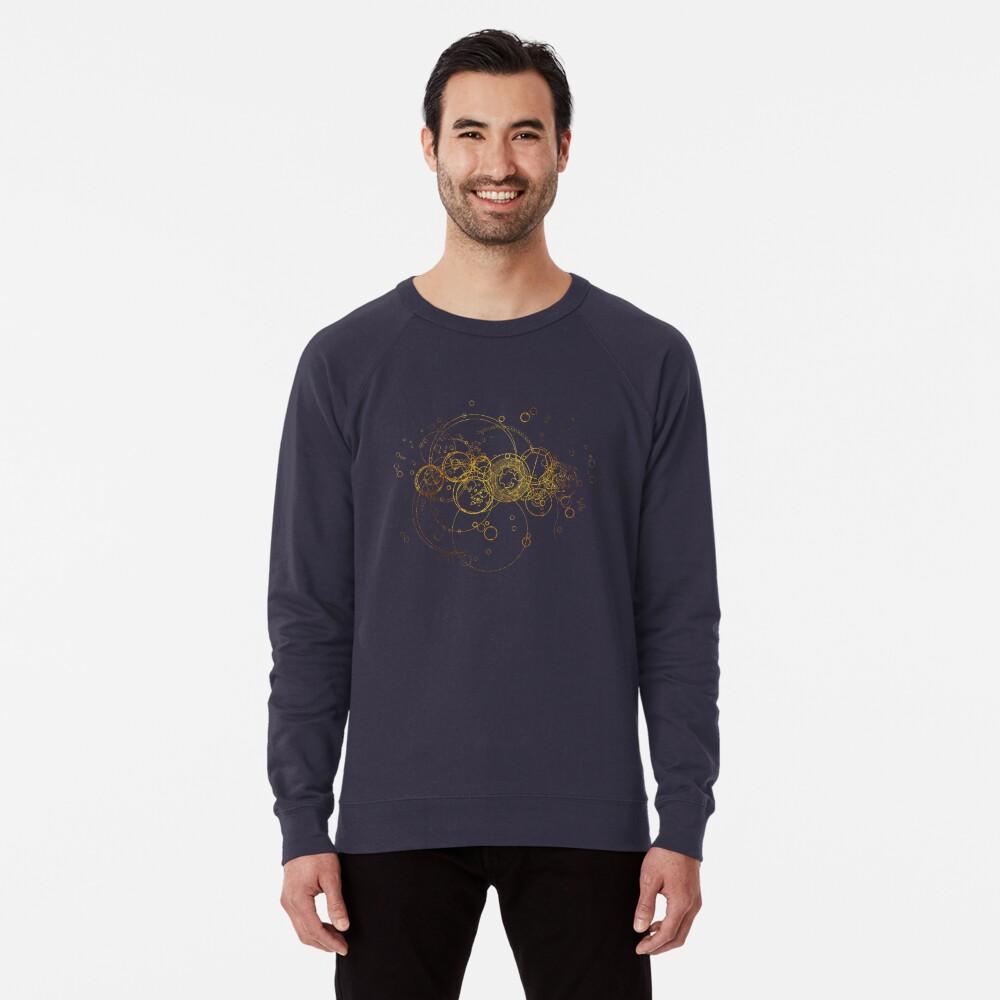 Time Lord Writing (blue) Lightweight Sweatshirt