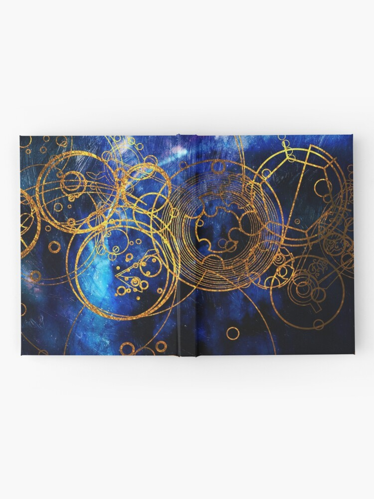 Alternate view of Time Lord Writing (blue) Hardcover Journal