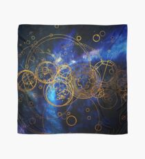 Time Lord Writing (blue) Scarf