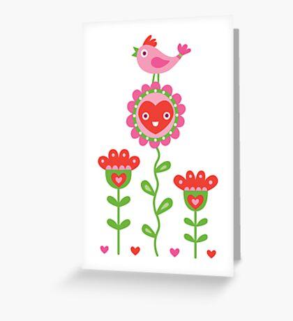 Happy - sweet print Greeting Card