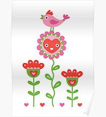 Happy - sweet print Poster