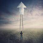 Leiter zu den Wolken von 1STunningART